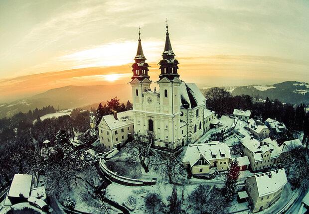 [Translate to Englisch:] Poestlingberg Winter ©linztourismus_ASigalov 01-2015